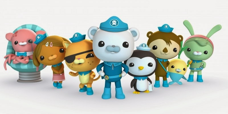 The Octonauts Characters