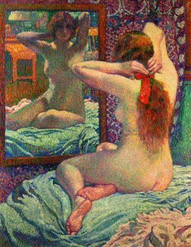 panglica-stacojie-theo-van-rysselberghe-1906
