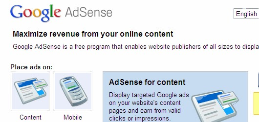 High cpm ad networks other than adsense 1