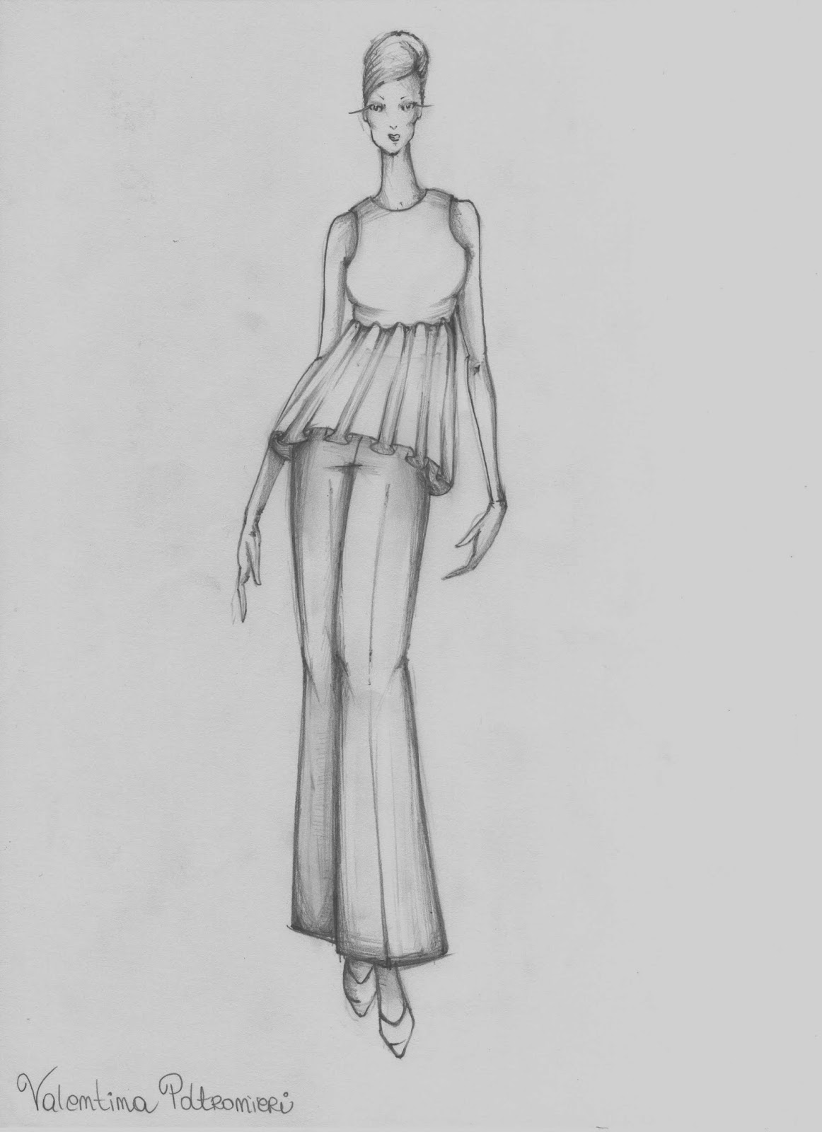 Favoloso Valentina Poltronieri Fashion Blog: DISEGNI DI MODA LK87