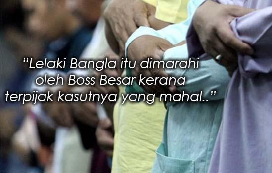 Kisah Lelaki Solat Berimamkan Pekerja Bangla