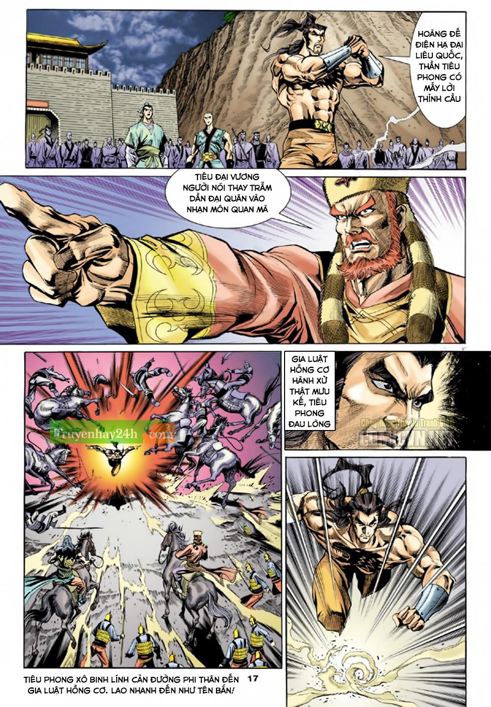 Thiên Long Bát Bộ chap 100 - Trang 18