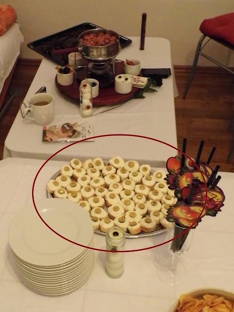 Halloween refreshment, food