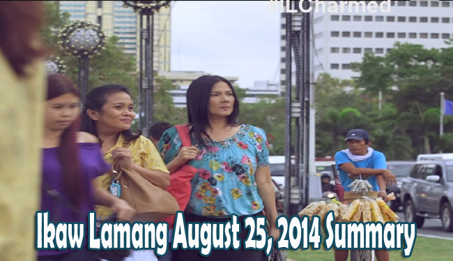 Ikaw Lamang August 25, 2014 Summary: The Comeback of Isabelle Acted by Amy Austria