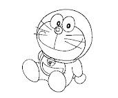 #4 Doraemon Coloring Page