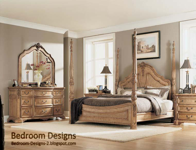 bedroom design ideas for master bedroom with classic bedroom furniture
