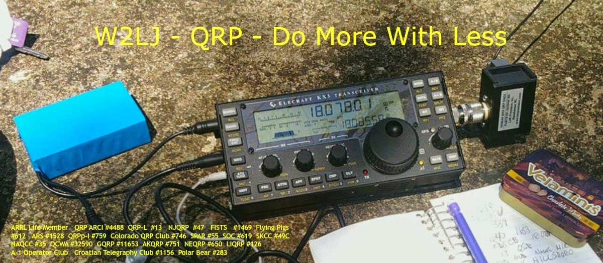W2LJ QRP .... Do More With Less