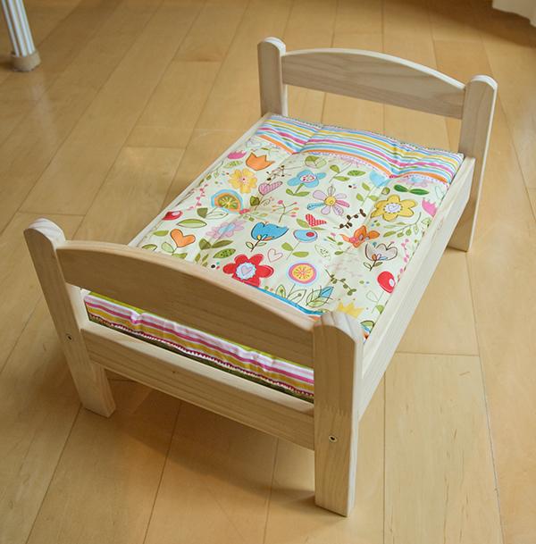 Free Doll Bedding Pattern, Creating the Mattress ...