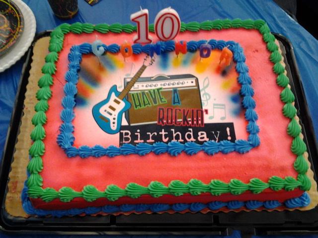 Cake Images Son : Corey s Creative Corner: Happy Birthday to my 10 Year Old!