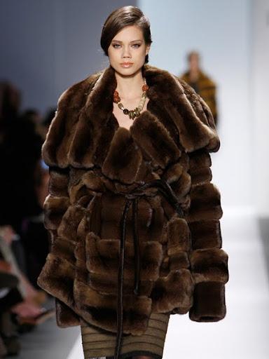 Късо кожено палто Basso