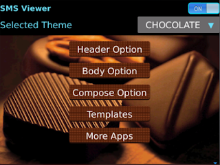 Cute Smart Sexy Fancy SMS Text Message Theme HD - Viewer And Composer v2.3 for BlackBerry