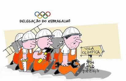 Delegação olímpica