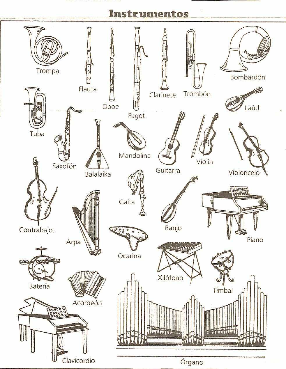La Musica Instrumentos musicales