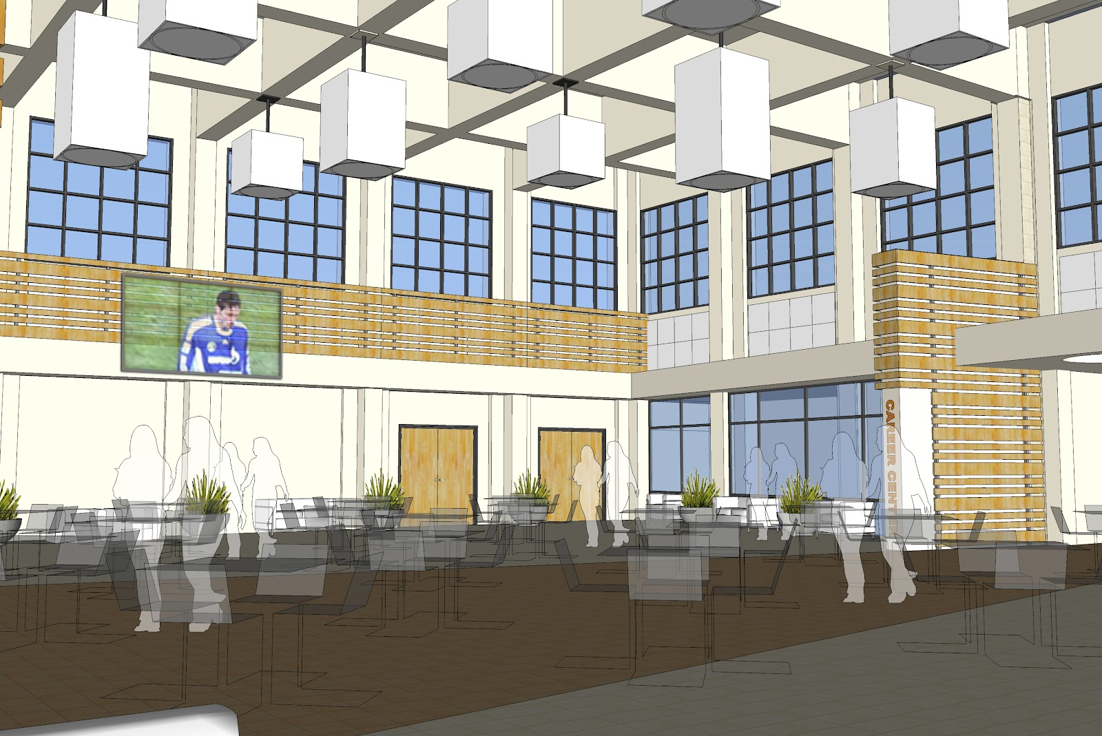 Caada Students Will Have A New Place To Study Eat And Socialize On Campus With The Opening Of Grove In August