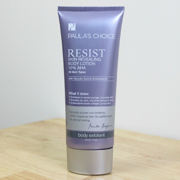 Paula's Choice RESIST Skin Revealing Body Lotion with 10% AHA tube