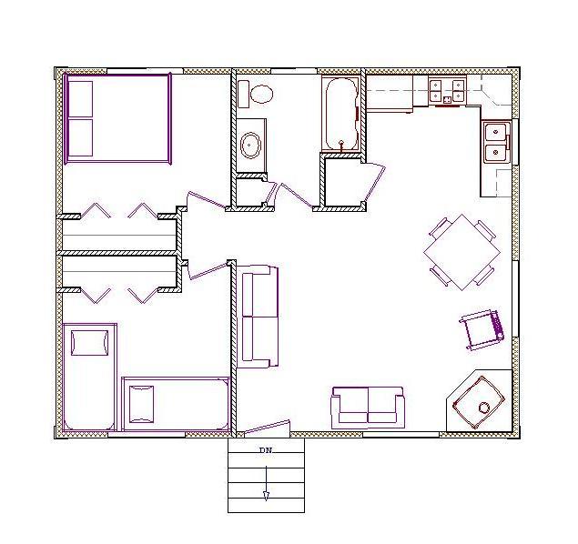 Elk river log cabins for 20x20 floor plans