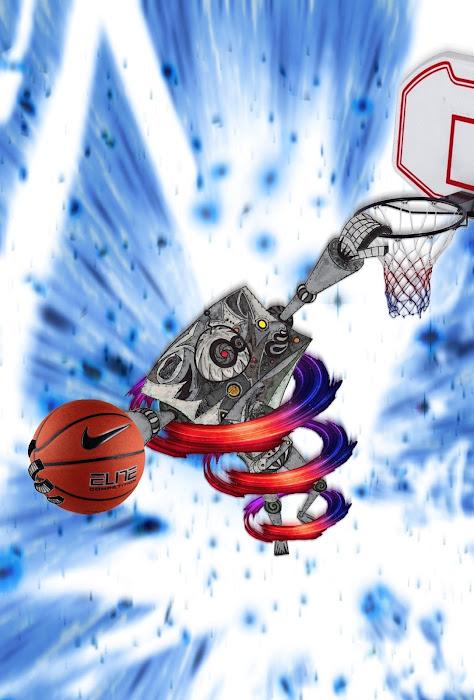 Robot basketteur Robot+dunk+11