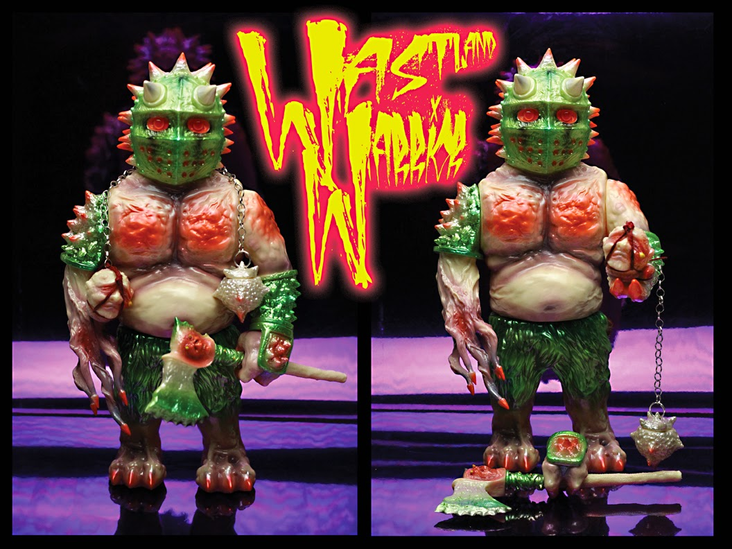 """Wasteland Warrior"" Berserker Vinyl Figure by Mutant Vinyl Hardcore"