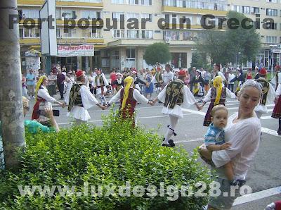 Porturi si dansuri populare traditionale din Grecia