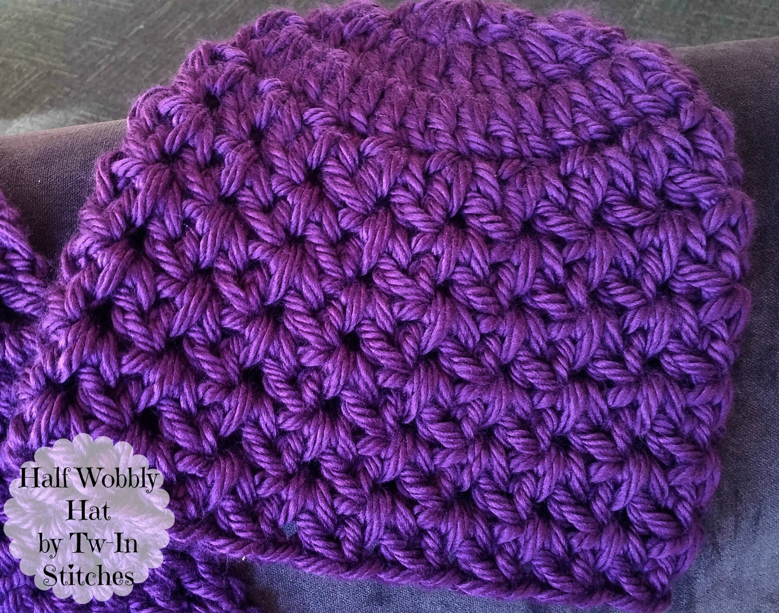 Tw In Stitches Sophies Half Wobbly Hat And Scarf Free Pattern