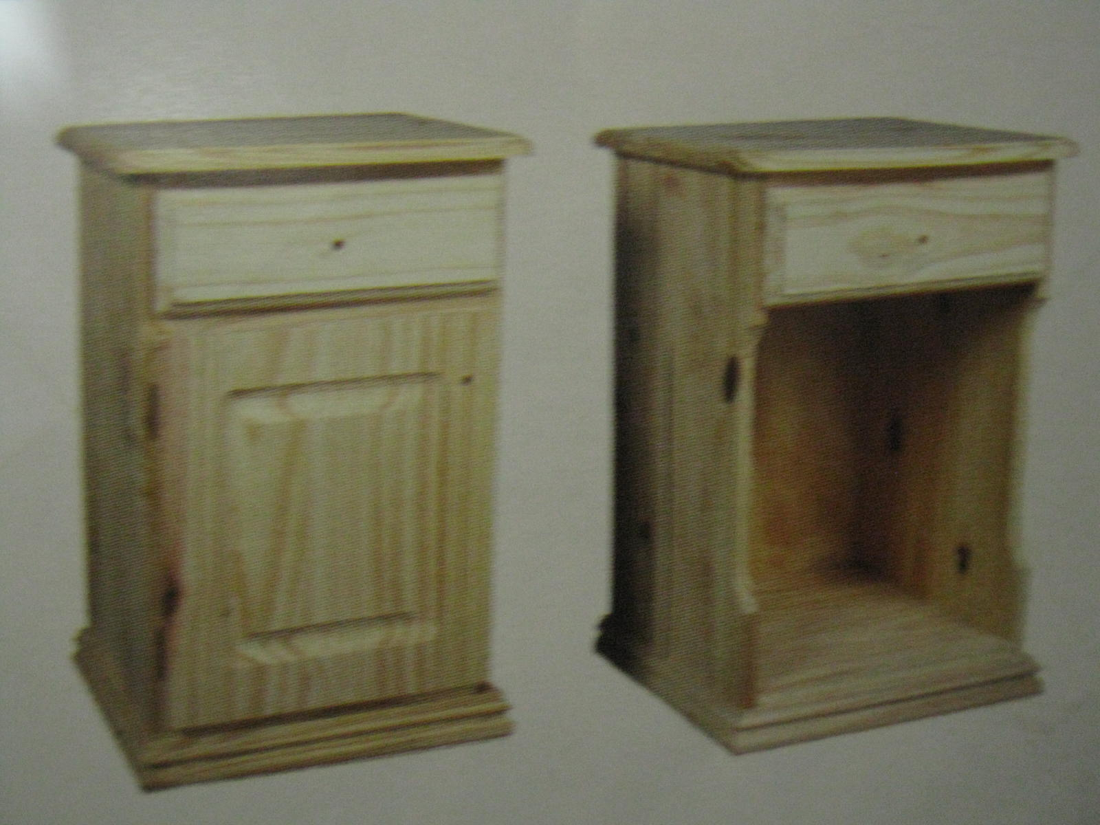 Luisi decoraciones muebles a medida - Muebles de pino sin tratar ...