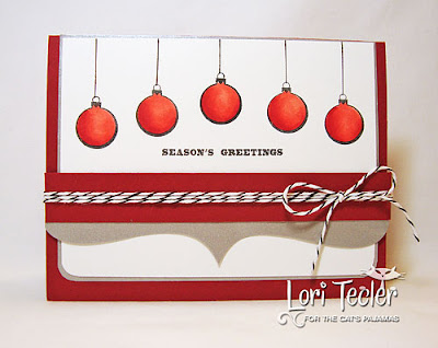 Season's Greetings-designed by Lori Tecler-Inking Aloud-stamps and dies from The Cat's Pajamas