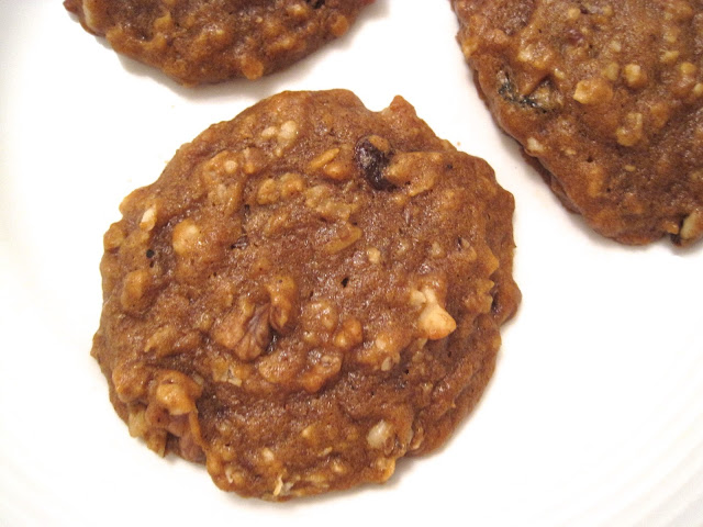 Pumpkin Oatmeal Cookies - Post Punk Kitchen Vegan Recipe