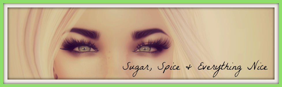 Sugar, Spice, and Everything Nice...