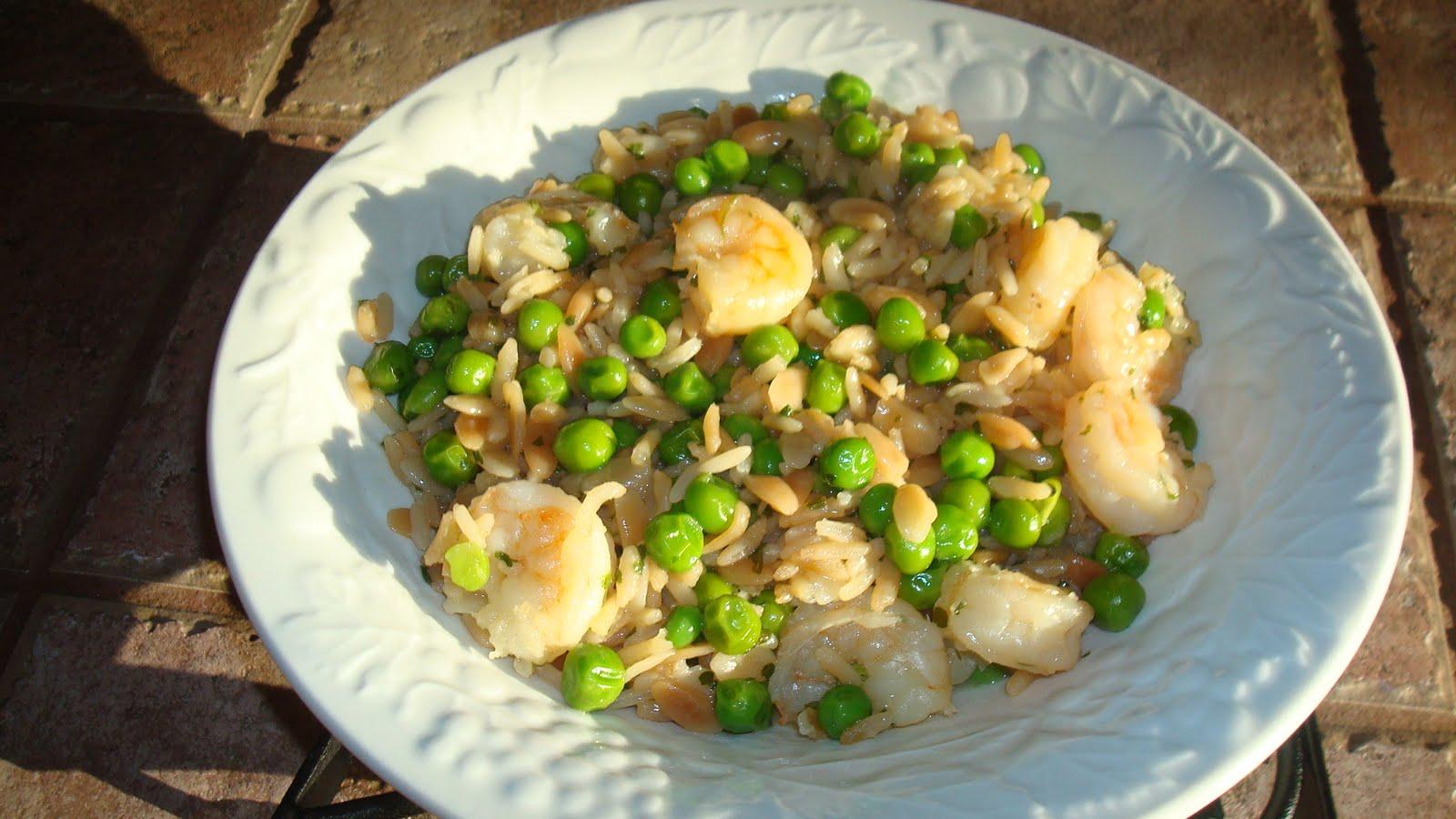 Fun Fierce Fabulous Beauty Over 50!: Cooking ~ Shrimp Peas & Rice