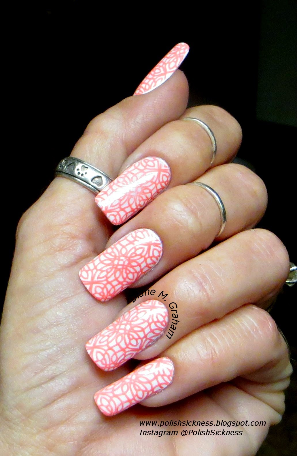 Cult El Porto, Mundo de Unas 71 Nabu, Fab Ur Nails FUN 13 stamp