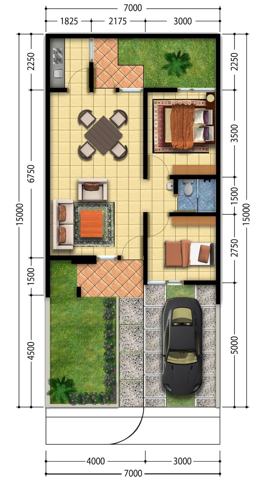 update terbaru denah rumah minimalis 2013