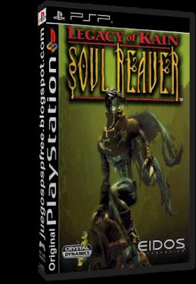 Legacy Of Kain: Soul Reaver [PSP-PSX] [Ingles] [1 Link]