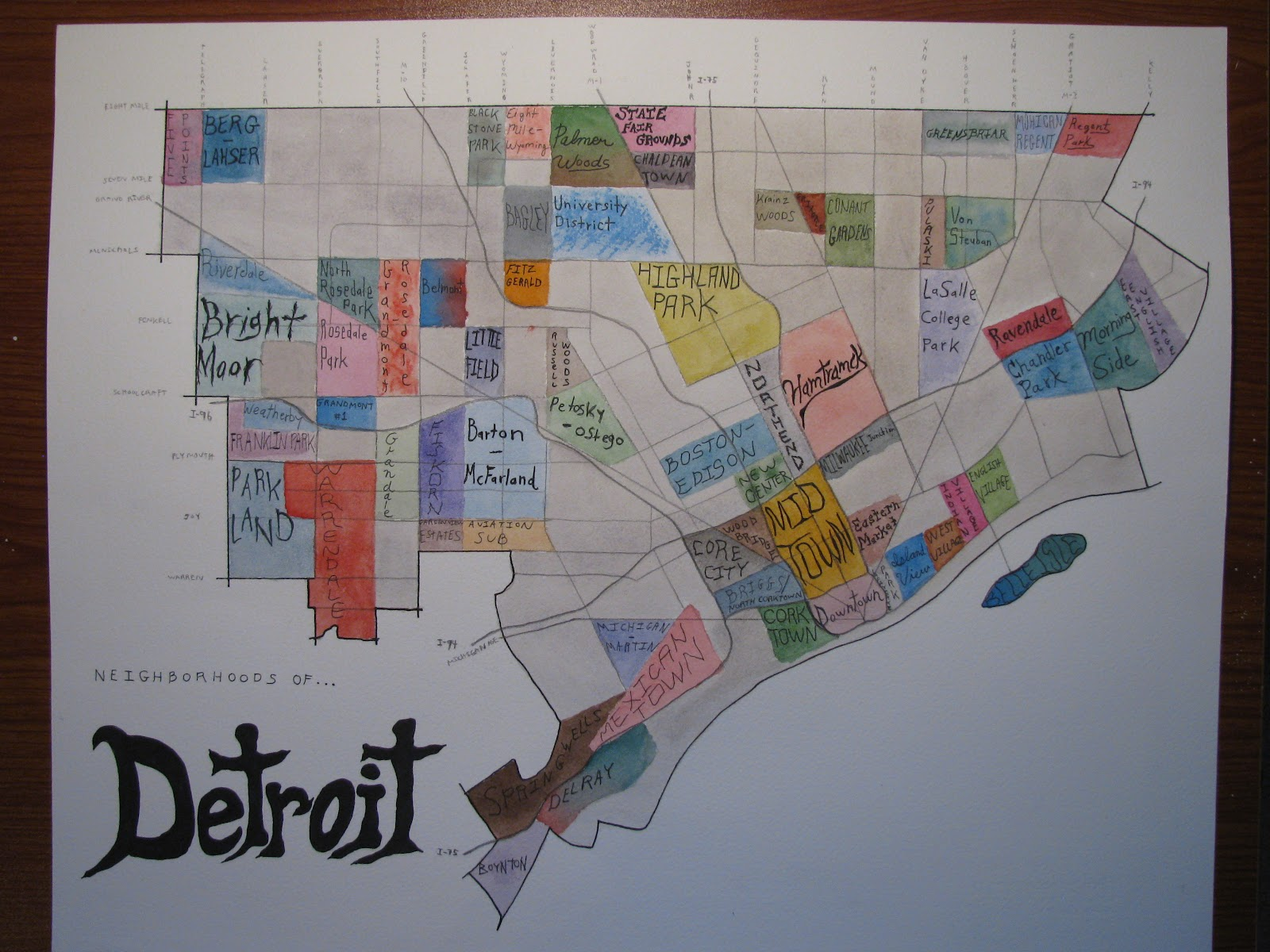 Sean Dufty: Detroit Map on map of delaware, map of new york, map of midwest, map of chicago, map of harper woods, map of great lakes, map of miami, map of olivet, map of san jose, map of 8 mile, map of caro, map of giants, map of highland park, map of vassar, map of boston, map of pauls valley, map of toronto, map of tampa, map of auburn hills, map of michigan,