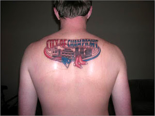 Patriots Tattoo design photo gallery - Patriots Tattoo Ideas