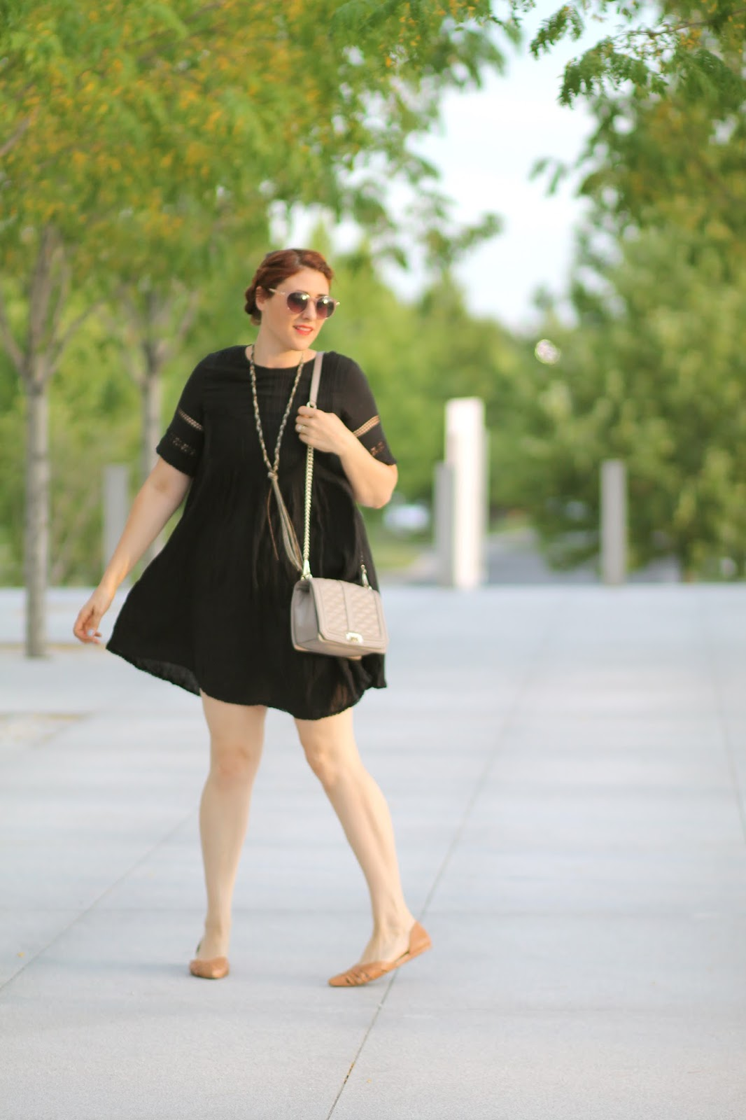 aritzia, black, sonore, dress, love, cross, body, rebecca, minkoff