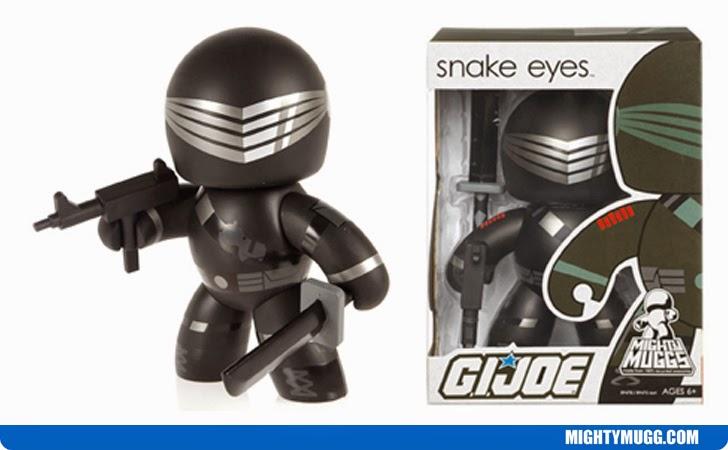Snake Eyes G.I.JOE Mighty Muggs Wave 1