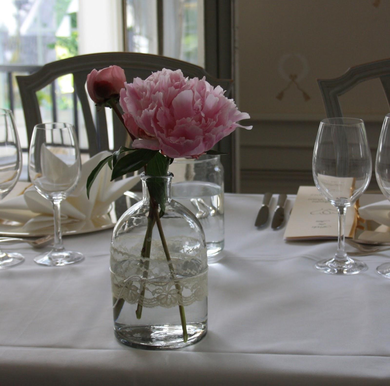 vaser till bröllop