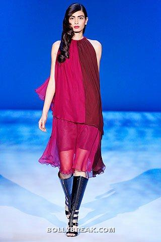 Diana Penty in red dress - (27) - Diana Penty Hot Pics - Model Ramp Walk Fashion Show