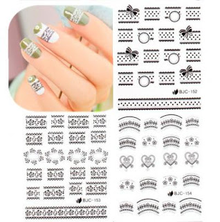 Born Pretty Store - Bow water decals