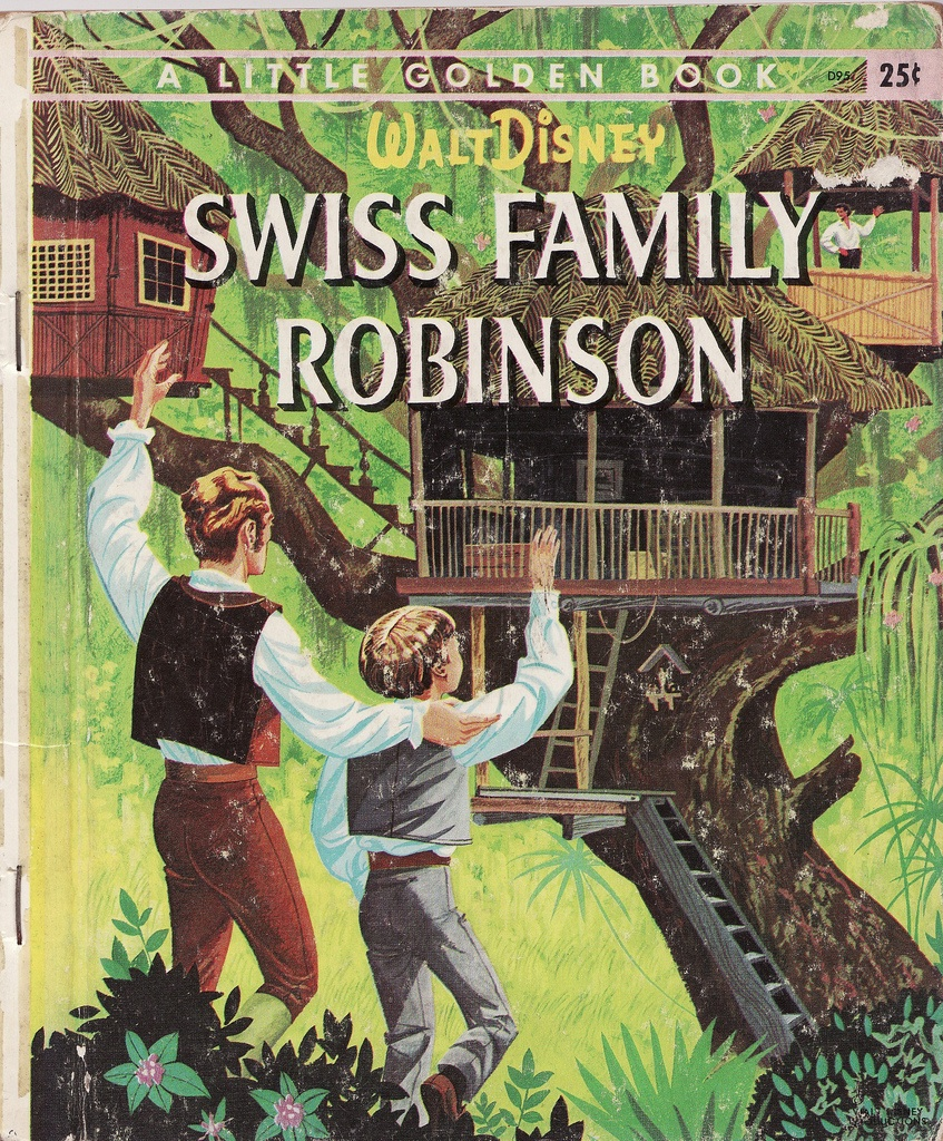 the swiss family robinson Swiss family robinson is a 1960 buena vista distribution feature film starring john mills, dorothy mcguire, and sessue hayakawa in a tale of a shipwrecked family building an island home the screenplay by lowell s hawley was loosely based upon the 1812 novel der schweizerische robinson.