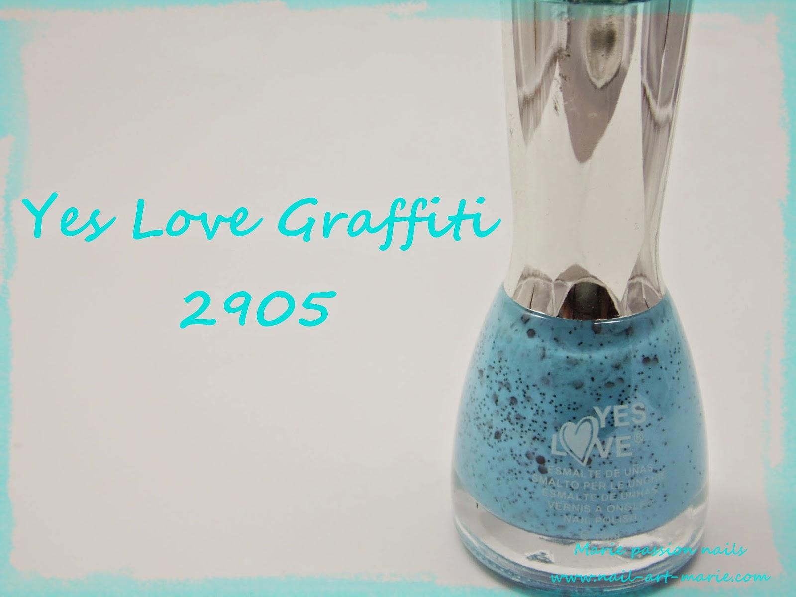 Yes Love Graffiti Bleu (2905)1