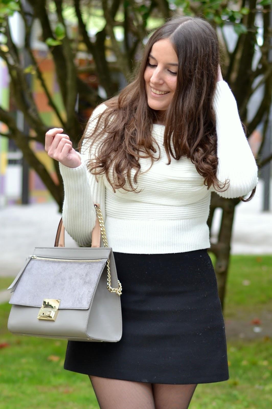 bolso gris de purificación garcia blog