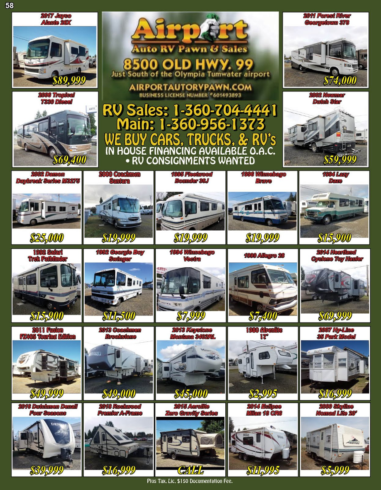 Airport Auto RV & Pawn