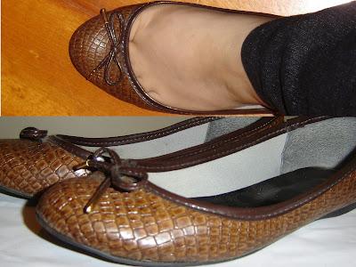 única sapatilha de Liliana Nakakogue