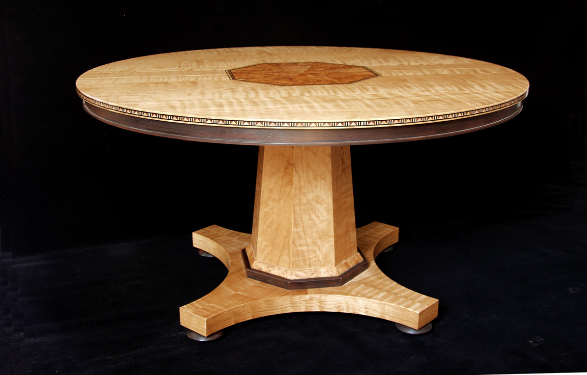 Dorset custom furniture a woodworkers photo journal an for Center table legs