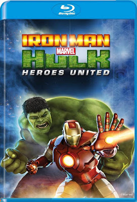 Iron Man & Hulk Heroes United 2013 BD50 Latino