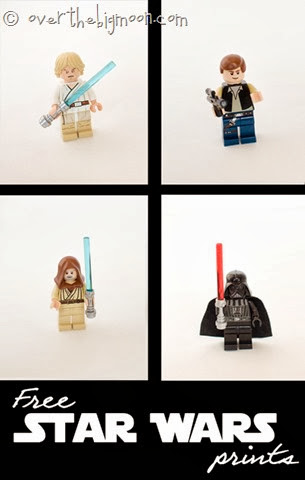 Lego Star Wars Prints for FREE
