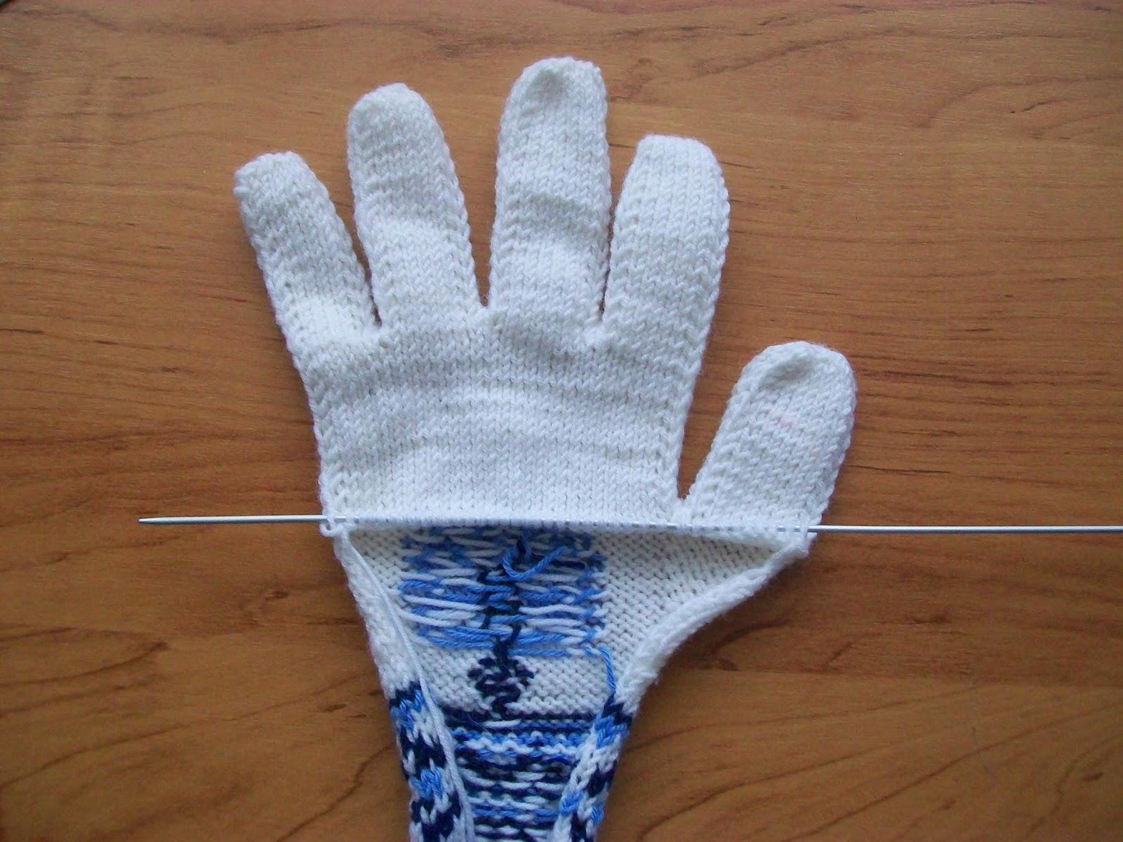 Мастер класс по вязанию перчаток 369