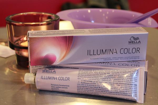 Die neue farbinnovation wella illumina color chamy beauty
