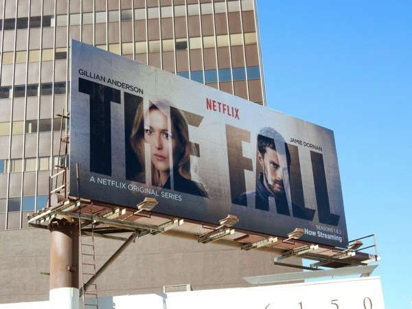 The Fall Netflix season 1 and 2 billboard